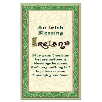Celtic Collection Single Towel-Blessing