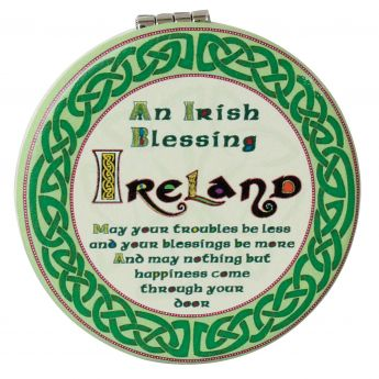 Celtic Collection-Compact Mirror-Blessing