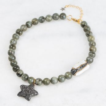 Celtic Star of the Night Necklace
